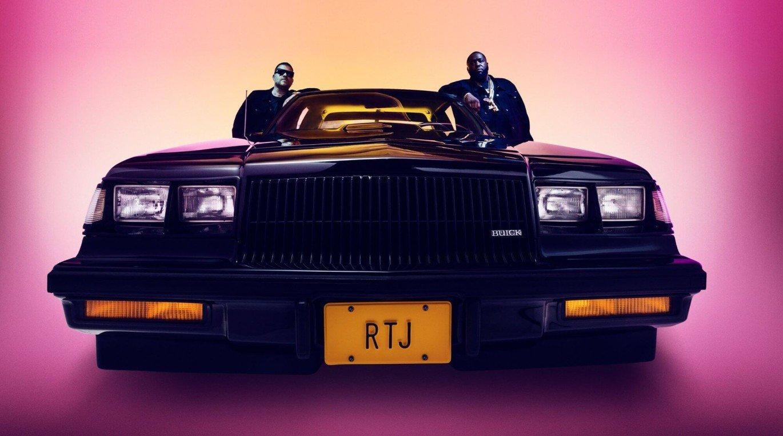 """Cover zu """"Oh LA LA"""" von Run The Jewels"""